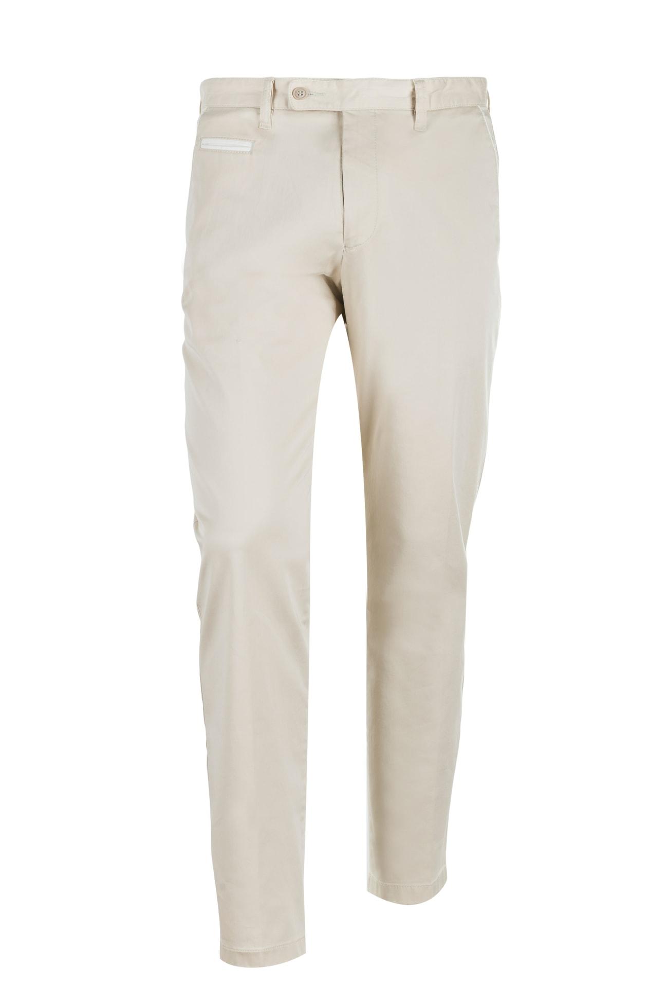 Beżowe spodnie Franco