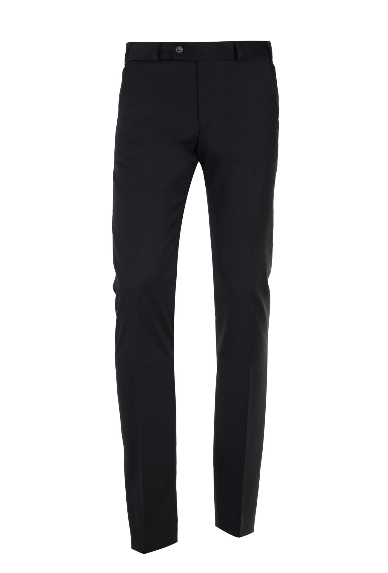 Granatowe spodnie Classic Fit