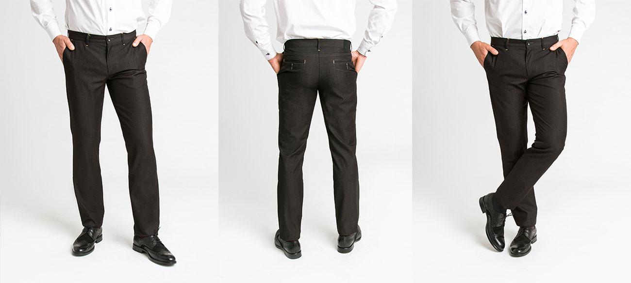 Eleganckie spodnie bez kantów